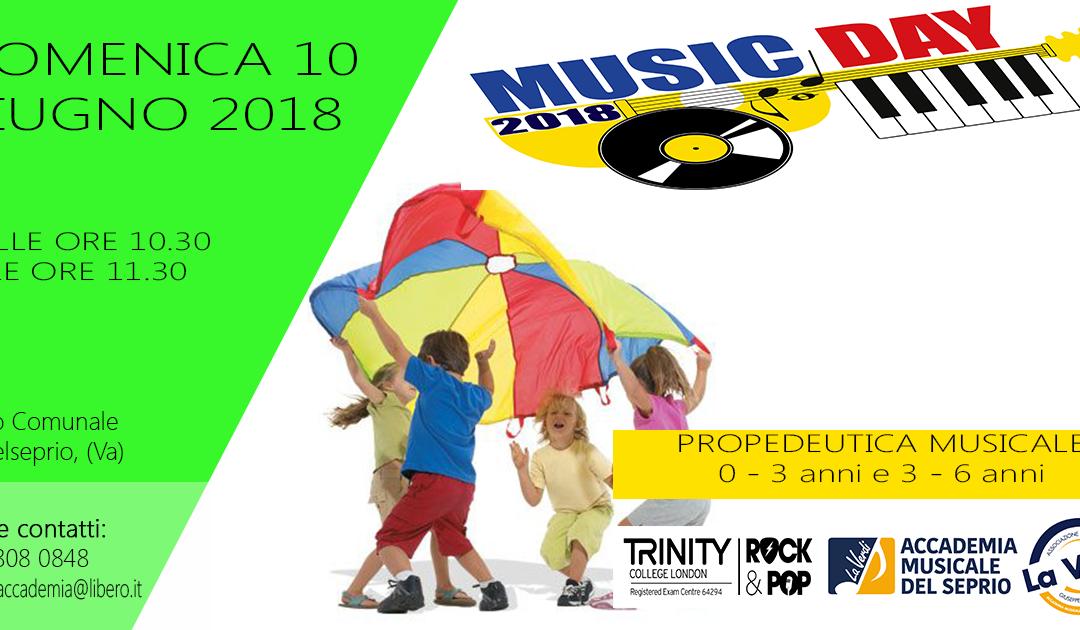 MUSIC DAY PROPEDEUTICA